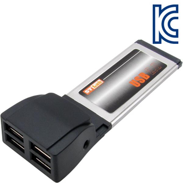 NETmate C-310 USB2.0 4포트 PCMCIA Express 카드(NEC) New