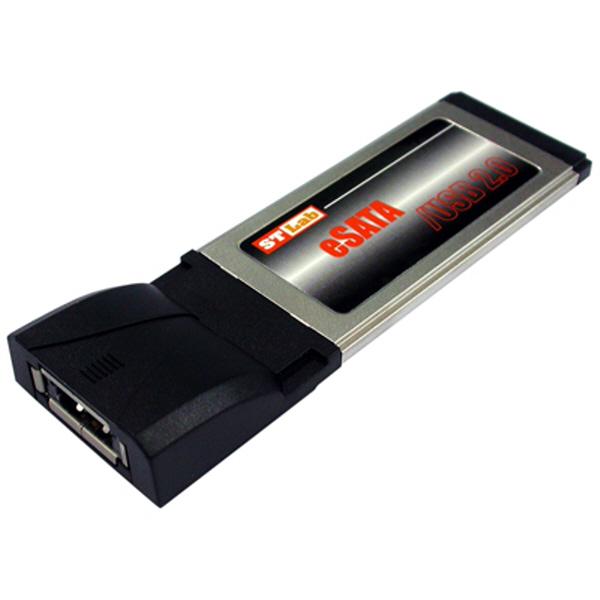 NETmate C-440 eSATA-USB 콤보 1Port PCMCIA Express 카드 (SI)