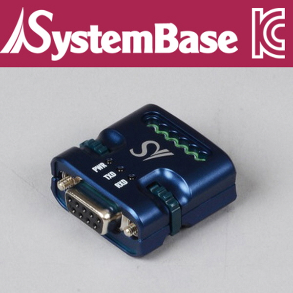 SystemBase(시스템베이스) 산업용 최소형 RS232 to RS422/RS485 시리얼 컨버터