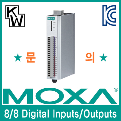 MOXA(모싸) ioLogik E1213 원격 I/O 제어기(8 Digital Inputs, 8 Digital Outputs)