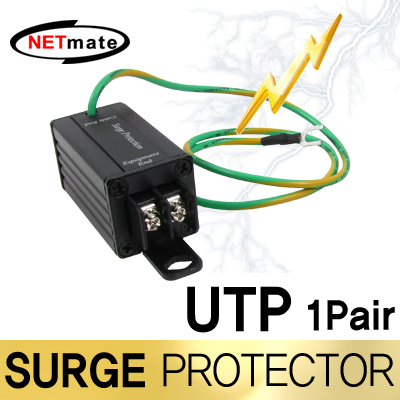 NETmate NM-SP004 UTP 서지보호기