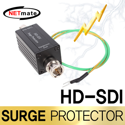 NETmate NM-SP007 HD-SDI BNC 서지보호기