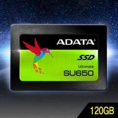 ADATA Ultimate SU650 120GB SSD 3D NAND TLC