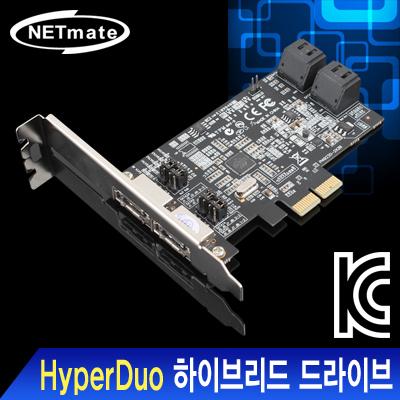 NETmate HyperDuo SATA3 PCI Express 카드(Marvell)(슬림PC겸용) [FQ89]-아이씨뱅큐