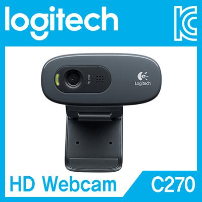 Logitech(로지텍) HD Webcam C270 화상카메라/웹캠 [A156]-아이씨뱅큐