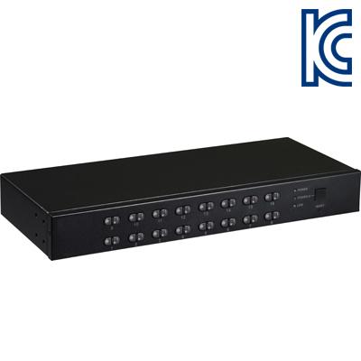 NETmate CAT5 USB KVM 16:1 스위치 [DH08]-아이씨뱅큐
