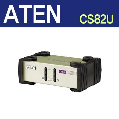 ATEN 2포트 PS/2-USB KVM 스위치 [CS82U] [CD17]
