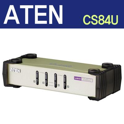 ATEN 4포트 PS/2-USB KVM 스위치 [CS84U] [A156]