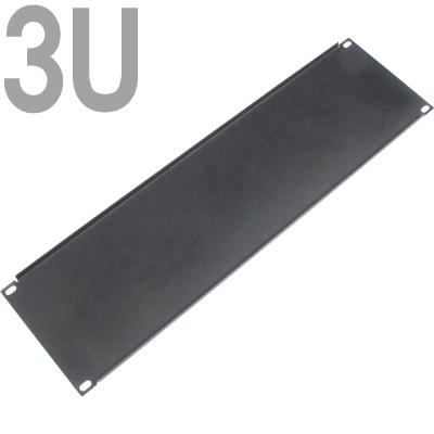 NETmate 허브랙 블랭크 판넬(3U/블랙) [FR71]