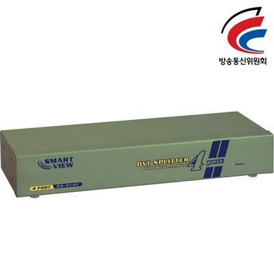 NETmate 고해상도 DVI 1:4 모니터 분배기(New) [GK95]