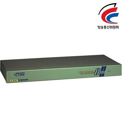 NETmate 고해상도 DVI 1:8 모니터 분배기 [DP26]
