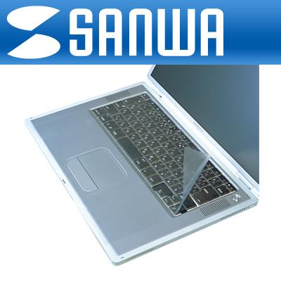 SANWA 노트북용 시트타입 멀티 키스킨 [GL]-아이씨뱅큐