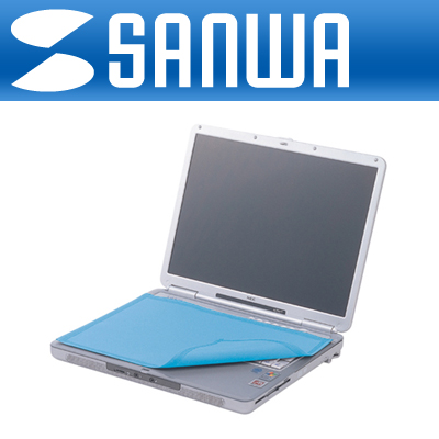 SANWA 노트북용 제균, 방취 시트(320x220mm) [FG69]-아이씨뱅큐
