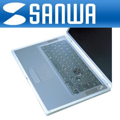 SANWA 노트북용 실리콘 멀티 키스킨 [GL]-아이씨뱅큐