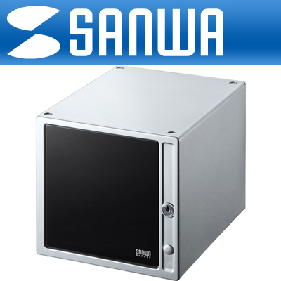 SANWA 고급 서랍형 CD/DVD 보관함(80매/실버) [DK06]-아이씨뱅큐