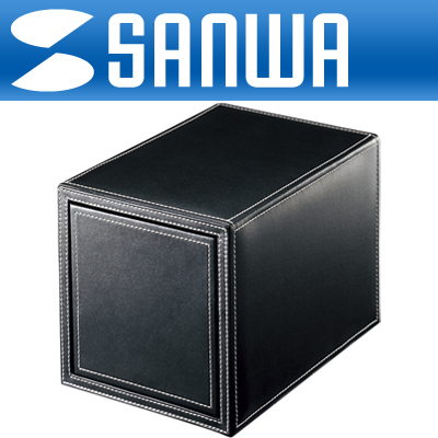 SANWA 고급 서랍형 CD/DVD 보관함(100매/블랙) [DK04]-아이씨뱅큐