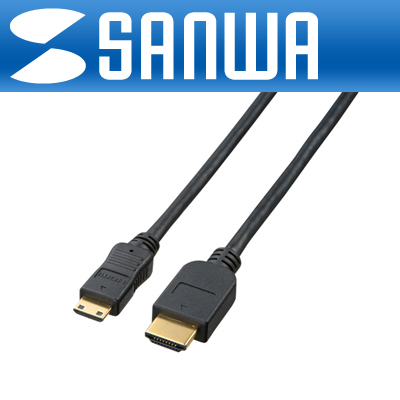 SANWA HDMI to  Mini HDMI 케이블 2m (Ver1.3b) [GL]