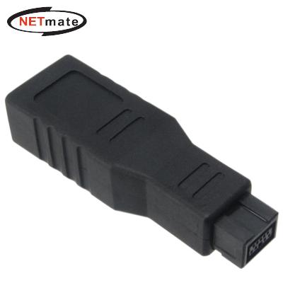 NETmate IEEE1394 6F to 9M 젠더(NM-BG01) [FP09]-아이씨뱅큐