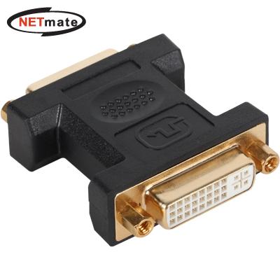 NETmate DVI F/F 젠더 (DVI 24+5F/24+5F) [FM19]-아이씨뱅큐