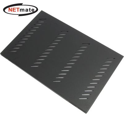 NETmate 서버랙 고정선반(블랙) [DF23]-아이씨뱅큐