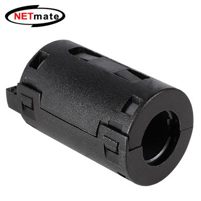 NETmate 고주파 노이즈 필터(페라이트 코어) 11mm [BK17]-아이씨뱅큐