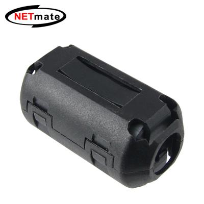 NETmate 고주파 노이즈 필터(페라이트 코어) 9mm [BK11]-아이씨뱅큐