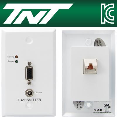 TNT 월 플레이트 VGA 1:1 리피터(RJ-45)(300m) [BA14]