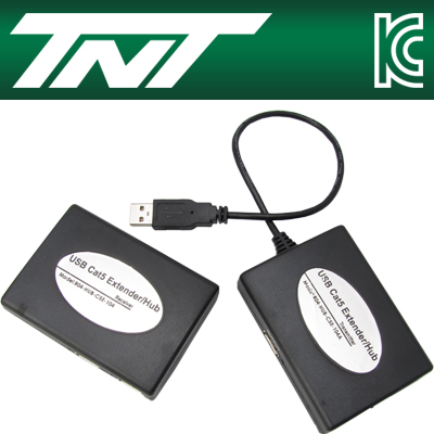 TNT USB 3+4포트 허브 리피터(RJ-45)(45m) [BA17]