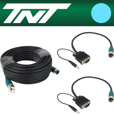 TNT RGB+스테레오 분리형(배관용) 케이블 41m [BC18]-아이씨뱅큐