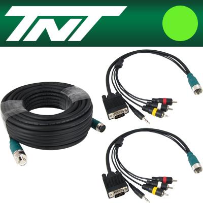TNT RGB+스테레오 or 3RCA 분리형(배관용) 케이블 41m [BC18]-아이씨뱅큐