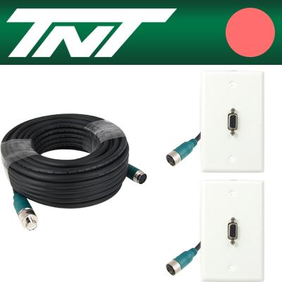 TNT RGB 월 플레이트 분리형(배관용) 케이블 40m [BC18]-아이씨뱅큐