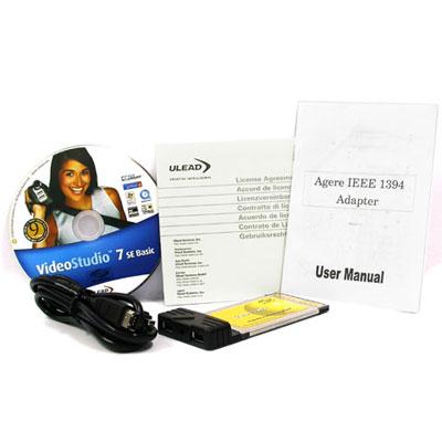 NETmate IEEE1394 노트북용 영상편집셋트(VIA/LSI) [CC02]