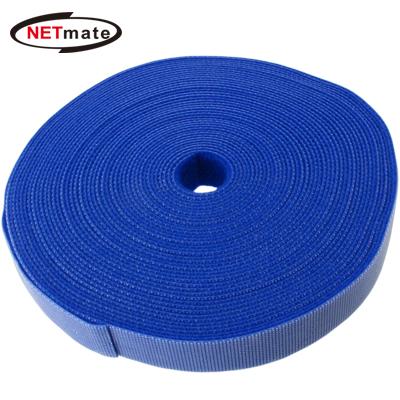 NETmate 롤타입 벨크로 케이블 타이 9.1m (블루) [GF60]