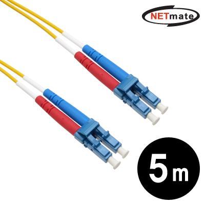NETmate 광점퍼코드 LC-LC-2C-싱글모드 5m [GJ51]