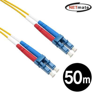 NETmate 광점퍼코드 LC-LC-2C-싱글모드 50m [GJ46]