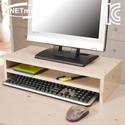 NETmate 2단 모니터 받침대 (워시) [GP02]