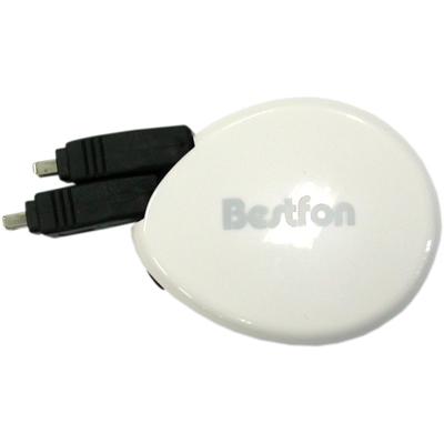 BESTFON IEEE1394 4-4 버튼타입 자동감김 케이블 [FS66]