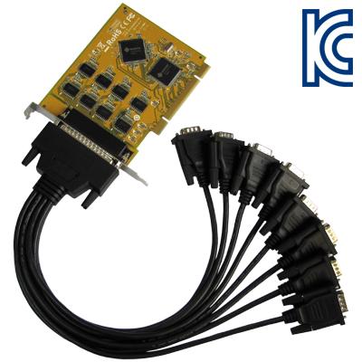 NETmate 8포트 PCI 시리얼카드(SUN) [CA42]