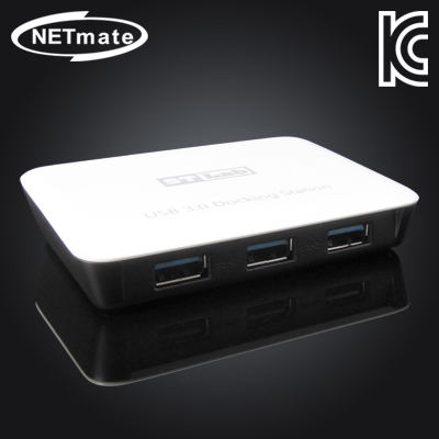 NETmate USB3.0 허브 + 기가비트 랜카드. [GH56]-아이씨뱅큐