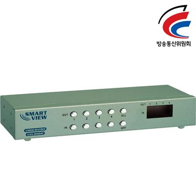 NETmate 고해상도 4:4 모니터 MATRIX 분배기(오디오포함) [FY99]