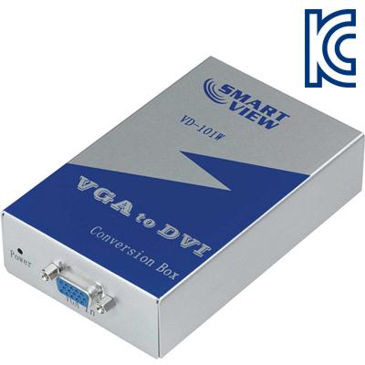 NETmate VGA to DVI 컨버터(DVI-D 싱글/와이드 지원) [GK93]-아이씨뱅큐
