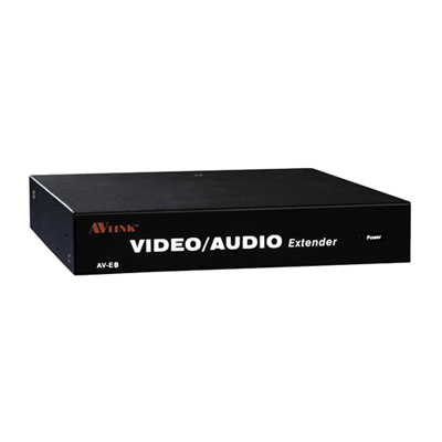 NETmate AV-E8 1:9 VGA/AUDIO 리피터 [CD29]-아이씨뱅큐