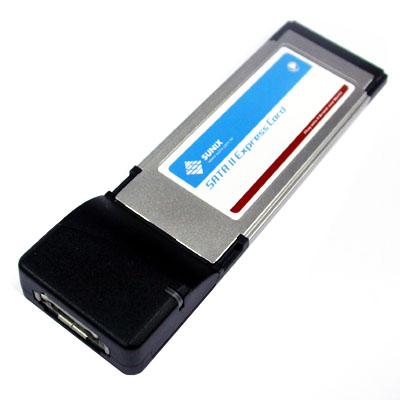 NETmate eSATA 1Port PCMCIA Express 카드(JMicron) [FQ88]