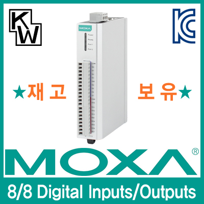 MOXA(모싸) ★재고보유★ ioLogik E1212 원격 I/O 제어기(8 Digital Inputs, 8 Digital Outputs) [CD42]