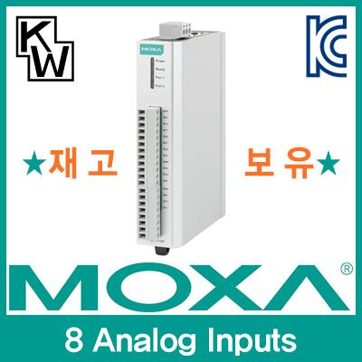 MOXA(모싸) ★재고보유★ ioLogik E1240 원격 I/O 제어기(8 Analog Inputs) [CD44]